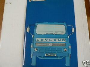 LEYLAND TRUCK VRACHTAUTO BROCHURE PROSPEKT MASTIFF  DUTCH 24 PAGES HEAVY MSB1/D