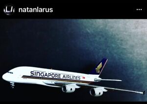 SINGAPORE AIRLINES EXCLUSIVE MODEL - 1:500 AIRBUS A380 SEALED