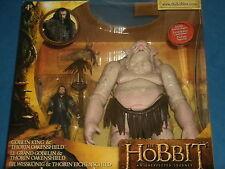 "HOBBIT 'An Unexpected Journey' GOBLIN KING & THORIN OAKENSHIELD SET 3.75"" Figs"