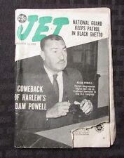 1969 Jan. JET WEEKLY Magazine Digest GD- Adam Powell Harlem