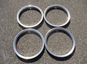 Factory original Chevy GMC 2500 3500 Suburban pickup 16 inch metal trim rings