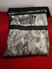 Garrett Camo Canvas Metal Detecting Finds Recovery Bag Pouch + Belt, #1612900
