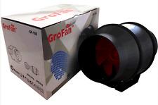 """GROFAN INLINE VENTILATION EXHAUST FAN 6""""/150MM VENT DUCT EXTRACTOR LOW NOISE"""