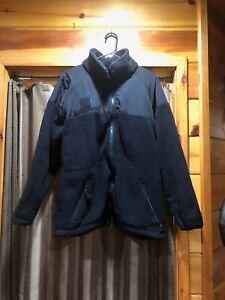 Military Cold Weather Fleece Jacket Sz Large