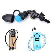 Water Bag Silicone curved Hydration Pack Suction Nozzle Bite Valve Bladder ^G