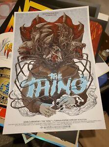 Randy Ortiz The Thing Mondo Movie Poster
