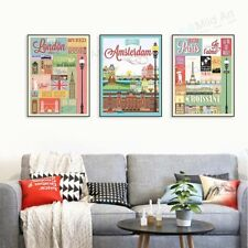 Vintage Retro Coffee Life Quotes A4 Poster Prints Cafe Bar Decor Canvas Painting