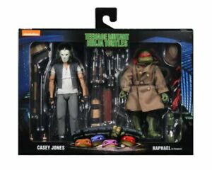 NECA TMNT Casey Jones And Raphael Teenage Mutant Ninja Turtles-2 Pack Walmart