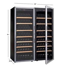 Artevino Double Unit by EuroCave 400-bottle Wine Cellar, Nib Ship From Store
