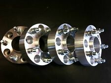 """4 Jeep Wrangler JK or Rubicon Wheel Spacers 2"""" Hub Centric 5x5 to 5x5 6061 T6"""
