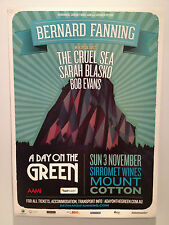 BERNARD FANNING A Day On The Green 2013 Poster Departures CRUEL SEA Sirromet NEW