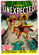 TALES OF THE UNEXPECTED #22 4.5 CREAM TO OFF-WHITE PAGES SILVER AGE