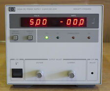 HP 6023A (Agilent) Lab Power Supply, 0-20V, 0-30A, 200 watts, Tested.