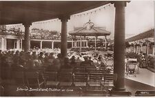 POSTCARD  CLACTON ON SEA  Bandstand