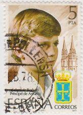 (SPA14) 1977 Spain 5p Spanish prince ow2497