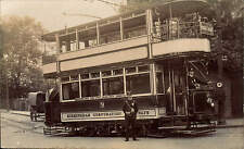 Birmingham Corporation Tramways Tram Car. Cannon Hill Park to Navigation Street.