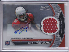 2011 Bowman Sterling Ryan Williams RC Jersey Auto Arizona Cardinals