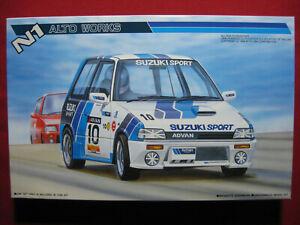 1987 N1 Alto Works Suzuki Sport Racing Advan 1/24 Fujimi Vintage Model Kit