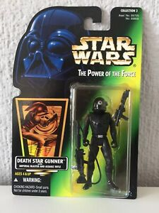 DEATH STAR GUNNER - STAR WARS - THE POWER OF THE FORCE - 1996 - ¡NUEVA!