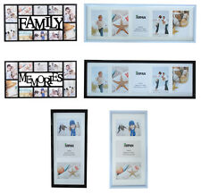 Arpan Multi Aperture Photo Picture Frames Holds 10, 5, 3, In choice of holds