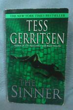 THE SINNER TESS GERRITSEN Vintage Paperback Book BB B51