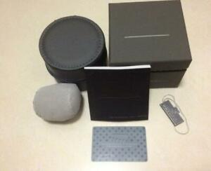 New Original TAG Heuer Presentation Watch Box Authentic Gray Leather Sport Case