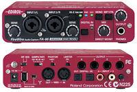 ROLAND EDIROL FA-66 HIGH FIDELITY AUDIO INTERFACE 24 BIT/192 kHz