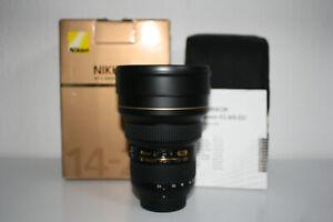 Nikon 14-24 mm F/2.8 ED AF-S G SWM N M/A  Neuwertig 1 Jahr Gewährleistung