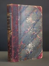 Caprices et Zigzags THEOPHILE GAUTIER 1856 Leather Binding World Travel French