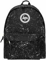 Hype Speckle Backpack Bag Black/White