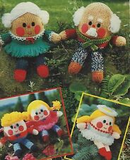 Toy Knitting Patterns Humpty in five designs in Double Knitting 769