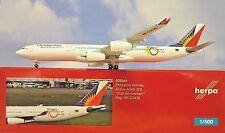 Herpa Wings 1:500  Airbus A340-300 Philippine RP-C3439  529341 Modellairport500