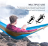 Camping Hammock Double Two Person Parachute Durable Tent Hiking Travel Outdoor