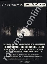 Black Rebel Motorcycle Club Take Them On, On Your Own LP Advert