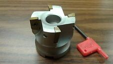 "2"" 90 degree indexable face shell mill,face milling cutter APKT #Z-2526-4015"