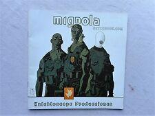 MIGNOLA SKTCHBOOK ED KALEIDOSCOPE PRODUCCIONES ESPAGNOL EXCELLENT ETAT
