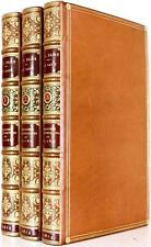 SCARCE 1819 THE ADVENTURES OF GIL BLAS COLOR PLATES BOUND BY MORRELL LONDON FINE