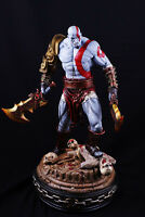 """Hot ! God of War 17"""" Kratos Collector's Edition Painted Figure Statue Resin Mode"""