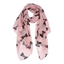 Nœud Noir écharpe * Summer Wrap châle épaules col tête rose