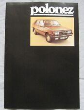 1979 FSO Polonez Brochure