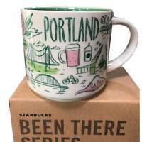 New Starbucks Portland Oregon 14oz Coffee Mug - Been There Series