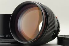 [NEAR MINT] Canon New FD NFD 85mm F/1.2 L MF Lens w/Hood from japan  #171