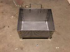 """Chinese Range Wok Waste Drain Basket 8 1/2"""" x 11 1/2"""" x 7"""" H"""