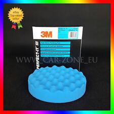 1 x 3M Perfect-it III spugna blu ondulata per polish abrasivo (150 mm) 50388