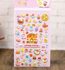 FD4494 Korea Design Cute Rabbit 3D Bubble Sticker for Diary Reward Phone✿