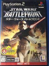 PS2 Star Wars Battlefront Japanese import  -1844-307-011
