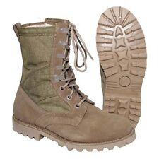 Brit. Desert Boots Khaki Iturri Leder Cordura Schuhe in verschiedenen Größen