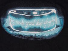 Nueva marca qwertee sombra del anillo negro T-shirt Tamaño L Señor de los anillos de uno