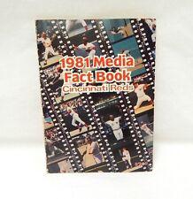 1981 Cincinnati Reds Media Fact Book