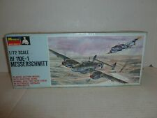 VINTAGE MONOGRAM BF110 E-1 MESSERSCHMITT  YEAR 1967 - SEALED